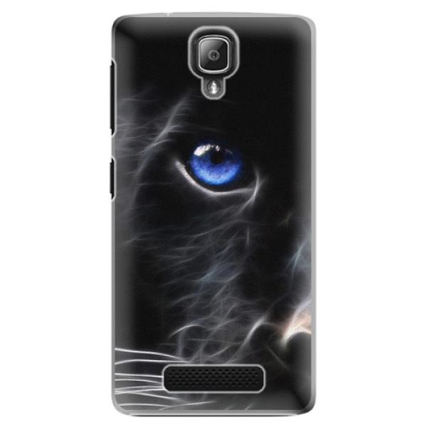 Plastové pouzdro iSaprio - Black Puma - Lenovo A1000