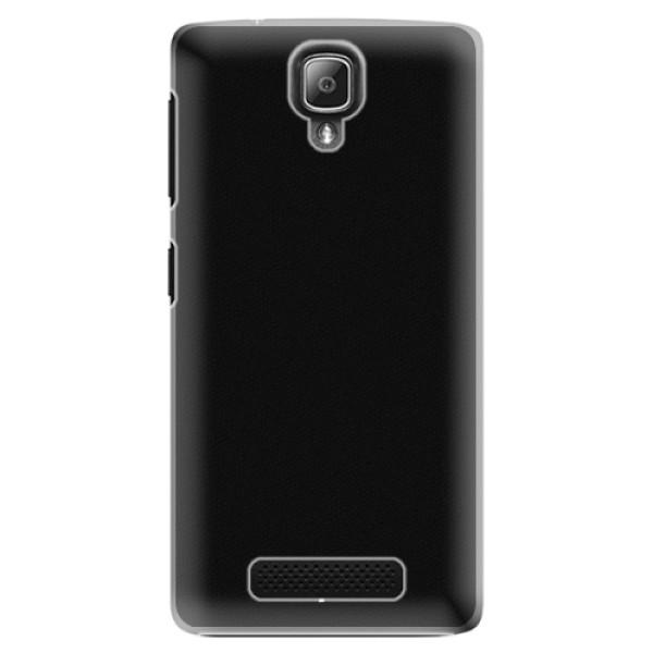 Plastové pouzdro iSaprio - 4Pure - černý - Lenovo A1000