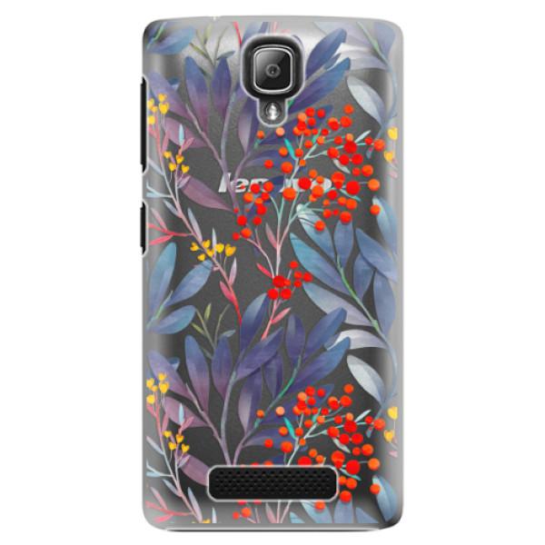 Plastové pouzdro iSaprio - Rowanberry - Lenovo A1000