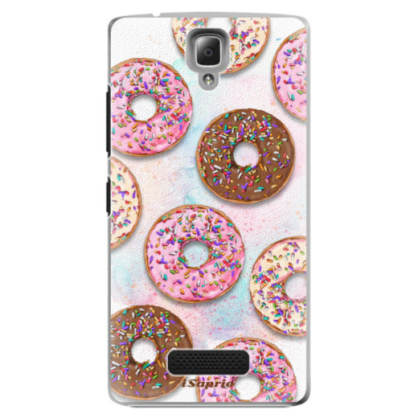 Plastové pouzdro iSaprio - Donuts 11 - Lenovo A2010
