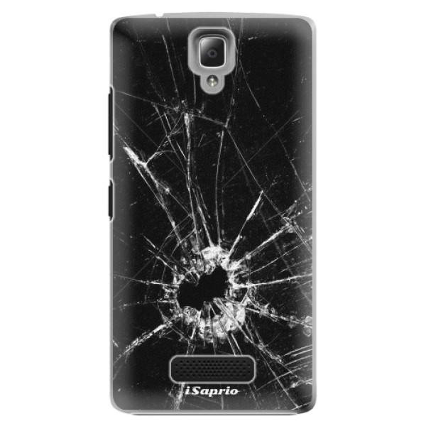 Plastové pouzdro iSaprio - Broken Glass 10 - Lenovo A2010
