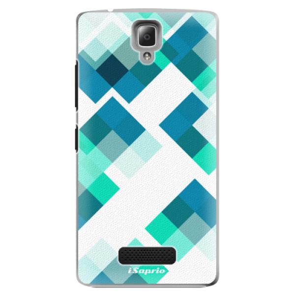 Plastové pouzdro iSaprio - Abstract Squares 11 - Lenovo A2010