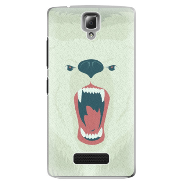Plastové pouzdro iSaprio - Angry Bear - Lenovo A2010