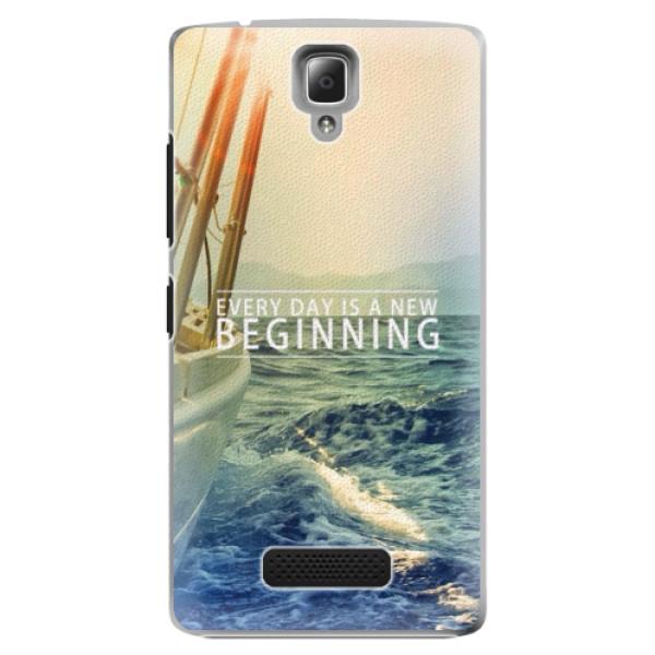Plastové pouzdro iSaprio - Beginning - Lenovo A2010