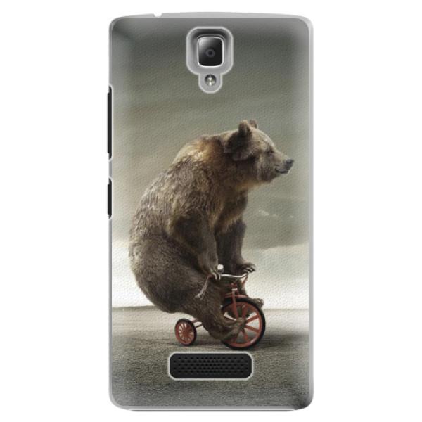 Plastové pouzdro iSaprio - Bear 01 - Lenovo A2010