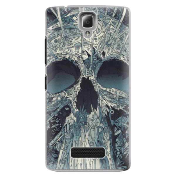 Plastové pouzdro iSaprio - Abstract Skull - Lenovo A2010