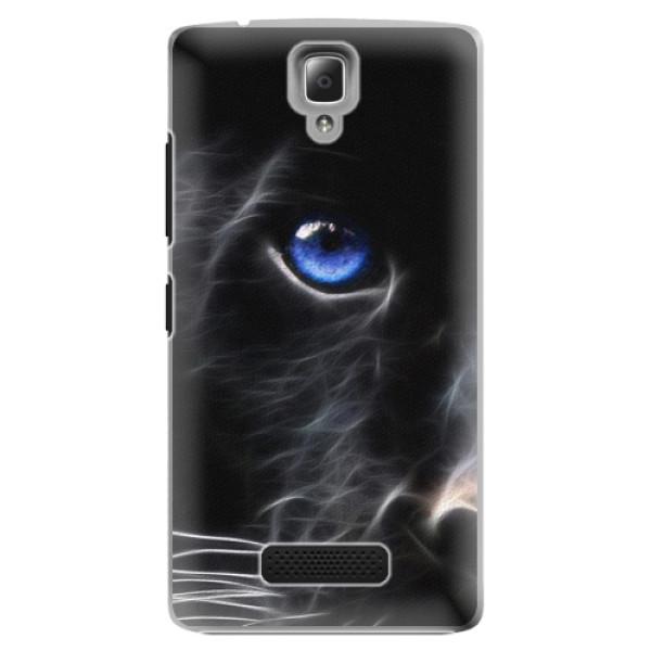 Plastové pouzdro iSaprio - Black Puma - Lenovo A2010