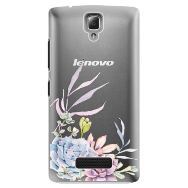 Plastové pouzdro iSaprio - Succulent 01 - Lenovo A2010