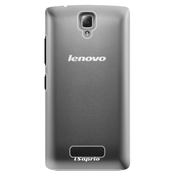 Plastové pouzdro iSaprio - 4Pure - mléčný bez potisku - Lenovo A2010