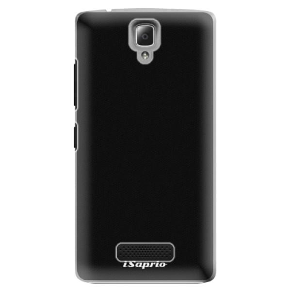 Plastové pouzdro iSaprio - 4Pure - černý - Lenovo A2010