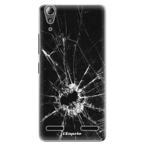 Plastové pouzdro iSaprio - Broken Glass 10 - Lenovo A6000 / K3