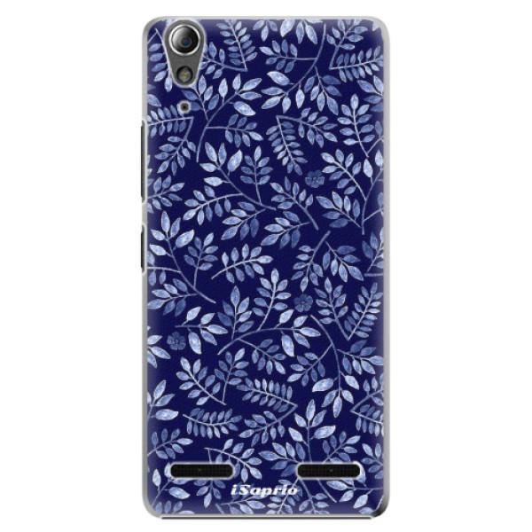 Plastové pouzdro iSaprio - Blue Leaves 05 - Lenovo A6000 / K3