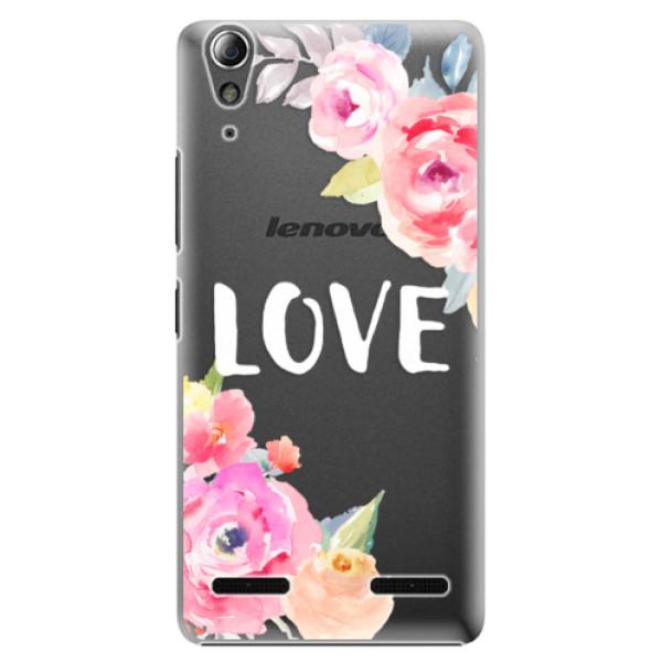 Plastové pouzdro iSaprio - Love - Lenovo A6000 / K3