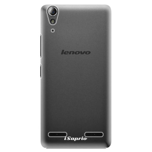 Plastové pouzdro iSaprio - 4Pure - mléčný bez potisku - Lenovo A6000 / K3