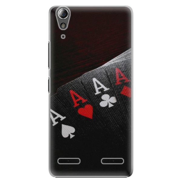 Plastové pouzdro iSaprio - Poker - Lenovo A6000 / K3