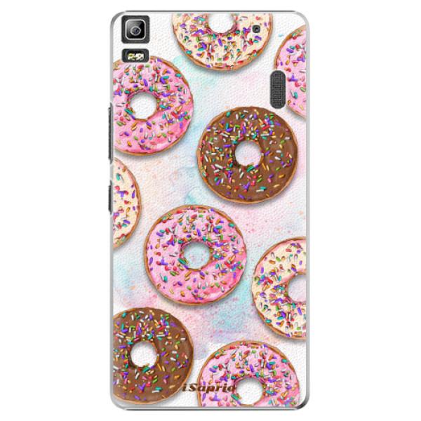 Plastové pouzdro iSaprio - Donuts 11 - Lenovo A7000