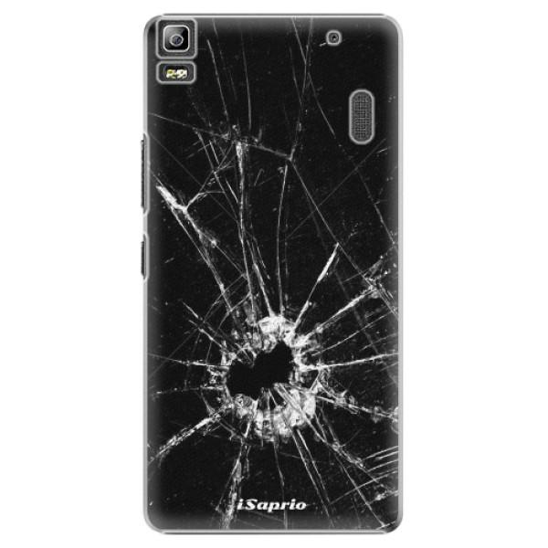 Plastové pouzdro iSaprio - Broken Glass 10 - Lenovo A7000