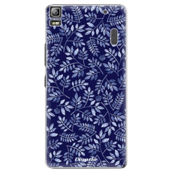 Plastové pouzdro iSaprio - Blue Leaves 05 - Lenovo A7000
