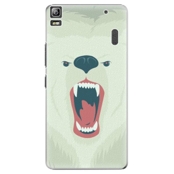 Plastové pouzdro iSaprio - Angry Bear - Lenovo A7000
