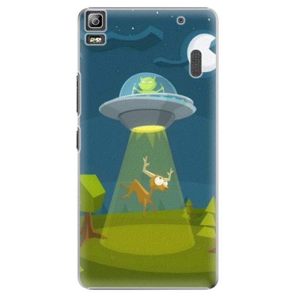 Plastové pouzdro iSaprio - Alien 01 - Lenovo A7000