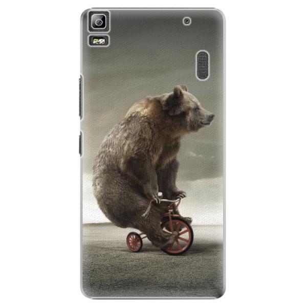 Plastové pouzdro iSaprio - Bear 01 - Lenovo A7000