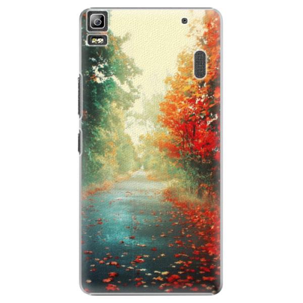 Plastové pouzdro iSaprio - Autumn 03 - Lenovo A7000