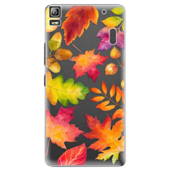 Plastové pouzdro iSaprio - Autumn Leaves 01 - Lenovo A7000