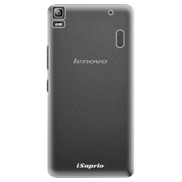 Plastové pouzdro iSaprio - 4Pure - mléčný bez potisku - Lenovo A7000