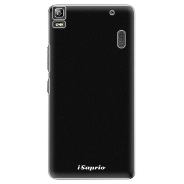 Plastové pouzdro iSaprio - 4Pure - černý - Lenovo A7000
