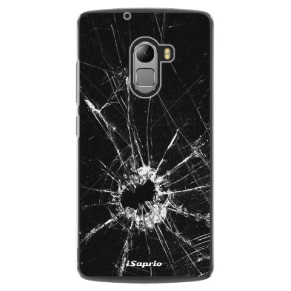 Plastové pouzdro iSaprio - Broken Glass 10 - Lenovo A7010