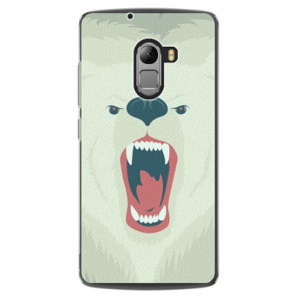 Plastové pouzdro iSaprio - Angry Bear - Lenovo A7010