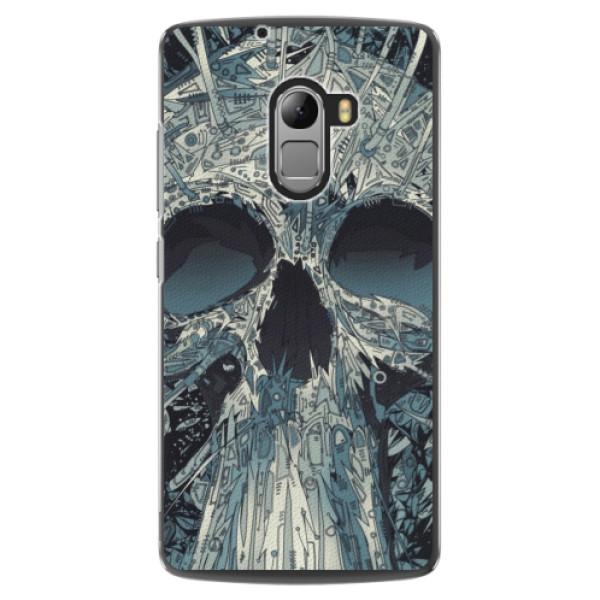 Plastové pouzdro iSaprio - Abstract Skull - Lenovo A7010