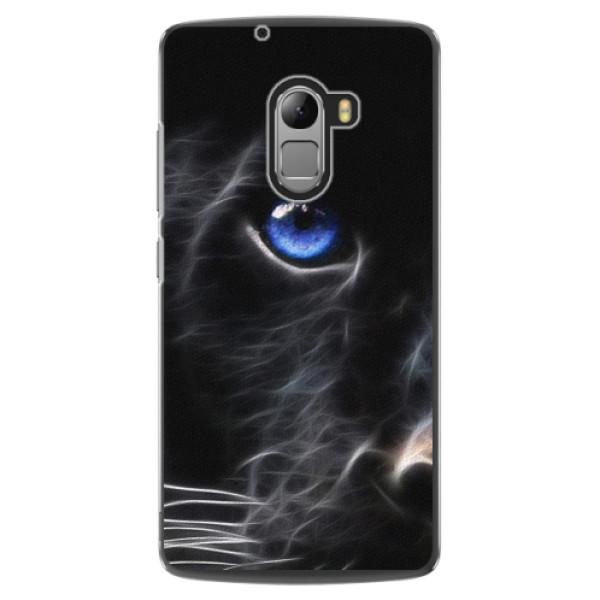Plastové pouzdro iSaprio - Black Puma - Lenovo A7010