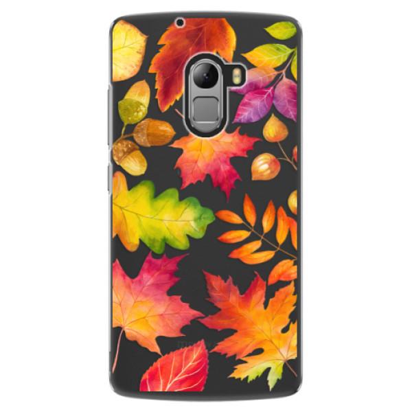 Plastové pouzdro iSaprio - Autumn Leaves 01 - Lenovo A7010