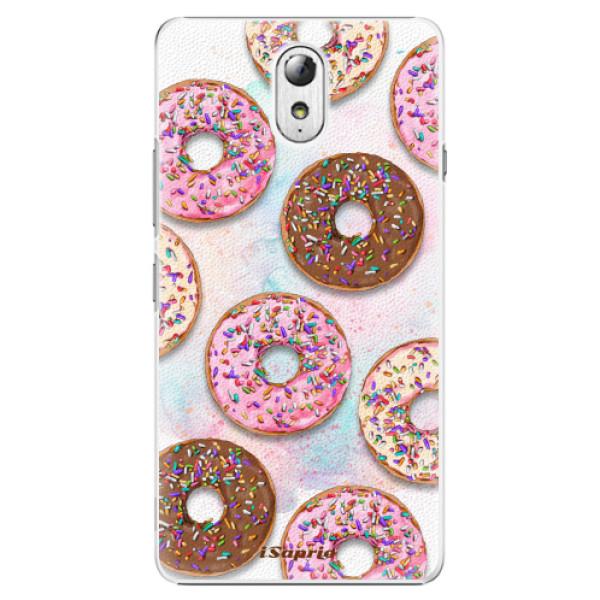 Plastové pouzdro iSaprio - Donuts 11 - Lenovo P1m