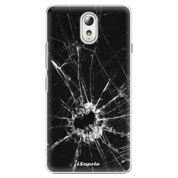 Plastové pouzdro iSaprio - Broken Glass 10 - Lenovo P1m