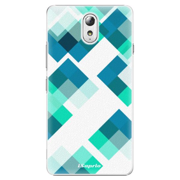 Plastové pouzdro iSaprio - Abstract Squares 11 - Lenovo P1m