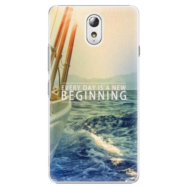 Plastové pouzdro iSaprio - Beginning - Lenovo P1m