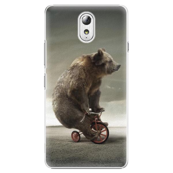 Plastové pouzdro iSaprio - Bear 01 - Lenovo P1m