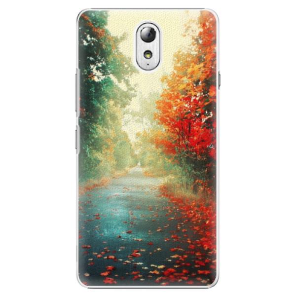 Plastové pouzdro iSaprio - Autumn 03 - Lenovo P1m