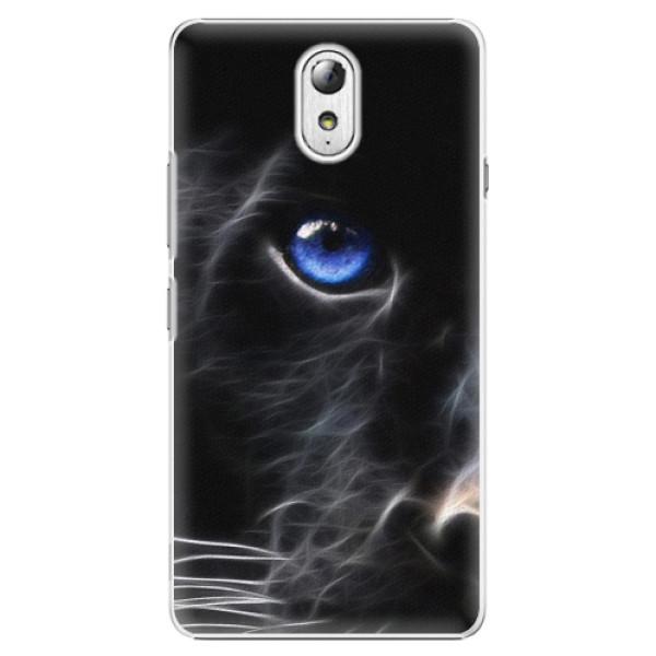 Plastové pouzdro iSaprio - Black Puma - Lenovo P1m