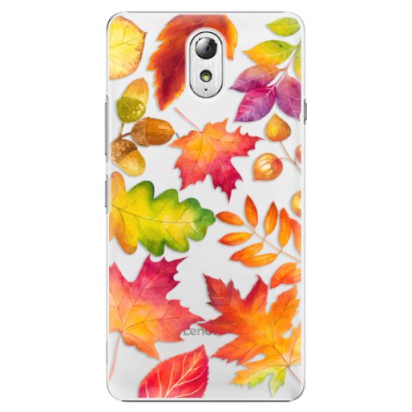 Plastové pouzdro iSaprio - Autumn Leaves 01 - Lenovo P1m