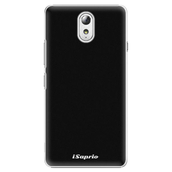 Plastové pouzdro iSaprio - 4Pure - černý - Lenovo P1m