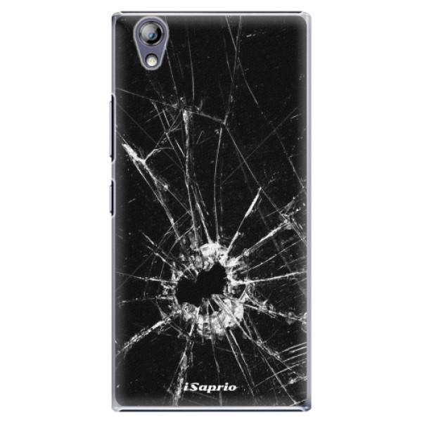 Plastové pouzdro iSaprio - Broken Glass 10 - Lenovo P70