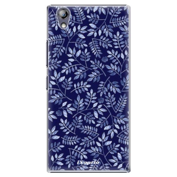 Plastové pouzdro iSaprio - Blue Leaves 05 - Lenovo P70