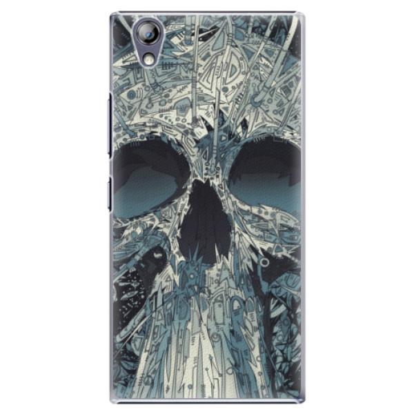 Plastové pouzdro iSaprio - Abstract Skull - Lenovo P70