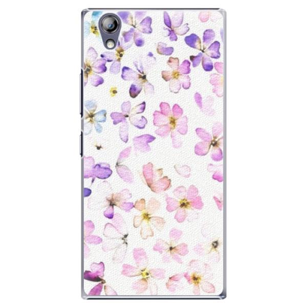 Plastové pouzdro iSaprio - Wildflowers - Lenovo P70