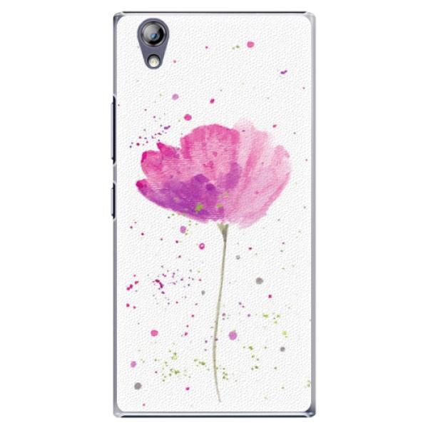Plastové pouzdro iSaprio - Poppies - Lenovo P70