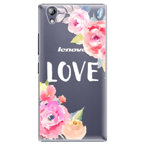 Plastové pouzdro iSaprio - Love - Lenovo P70