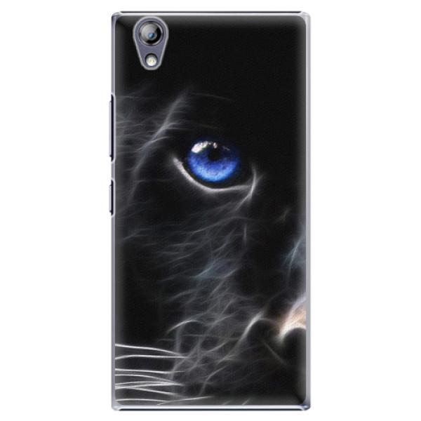 Plastové pouzdro iSaprio - Black Puma - Lenovo P70